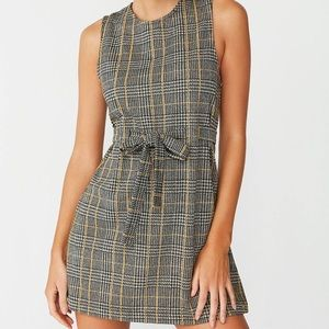 UO Penny Belted Mini Dress